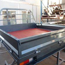 dmax steel tray