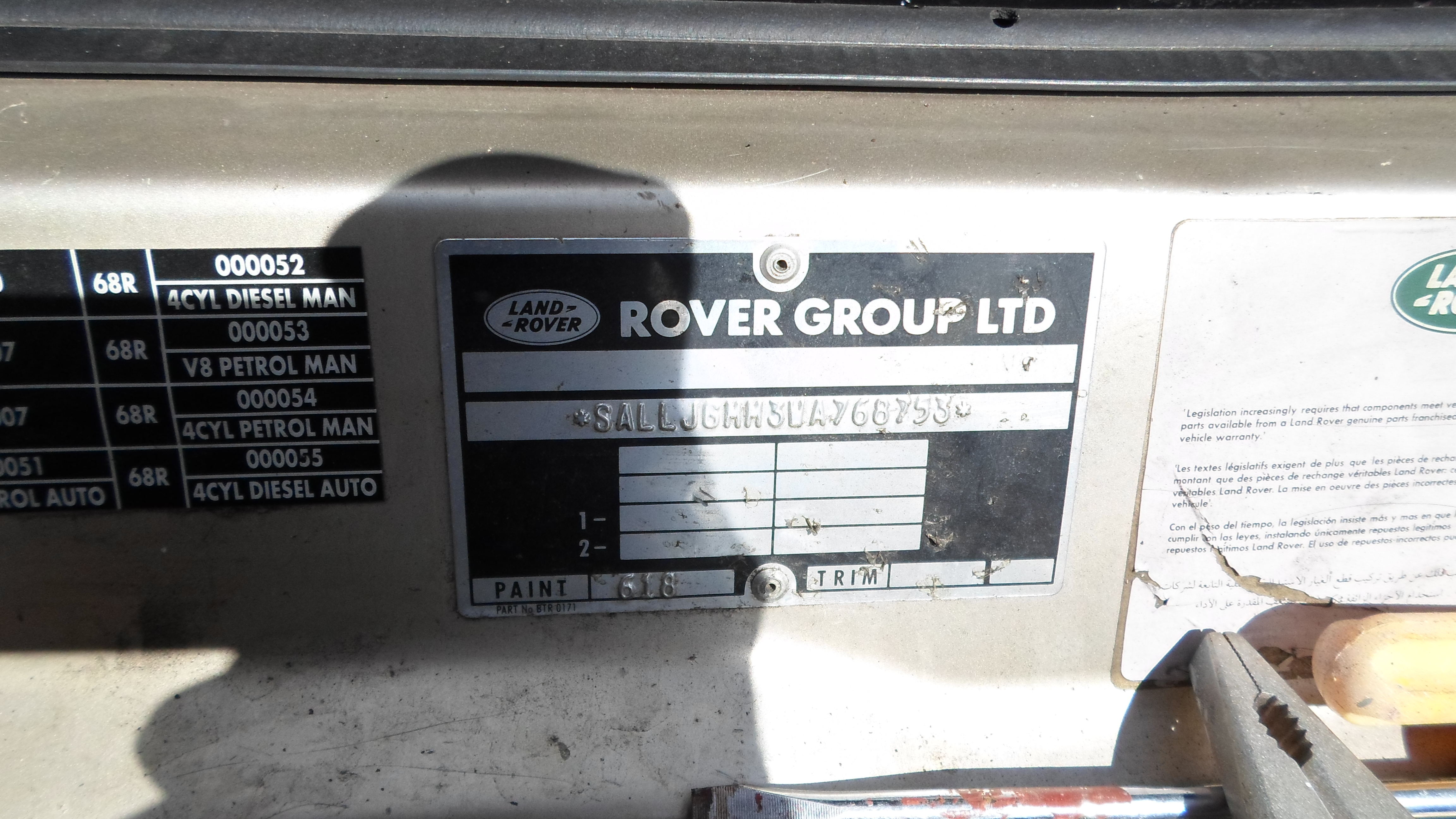 Landrover Discovery 1998 3269 Perth 4wd Land Rover Parts Sam 3175