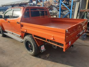 Perth 4wd steel tray colorado