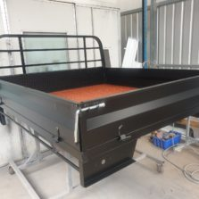 extra cab steel tray