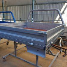 hilux steel tray