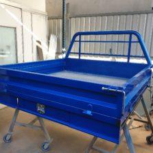 steel tray blue colorado