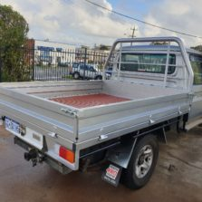 landcruiser steel tray