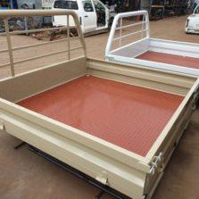 vdj 79 dual cab steel tray